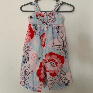 Janie and Jack floral pants suit